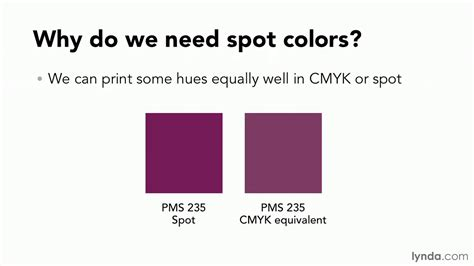 spot colors print production tutorial why spot colors are necessary