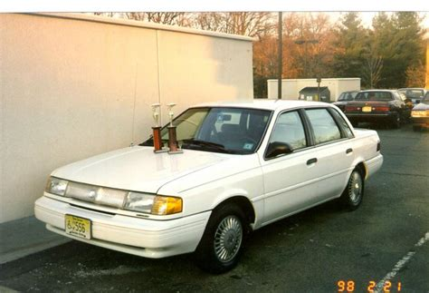 how to work on cars 1992 mercury topaz free book repair manuals 1992 mercury topaz information and photos zombiedrive
