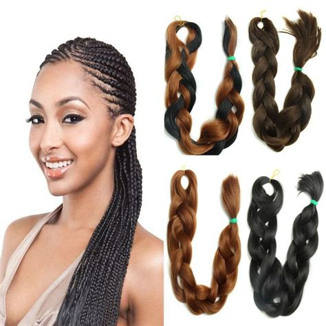 thick braid extensions 400 best images about hair extension synthetic hair on