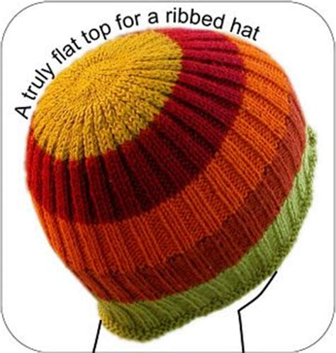 how to knit a flat circle with circular needles how to knit a flat top ribbed hat knitting for