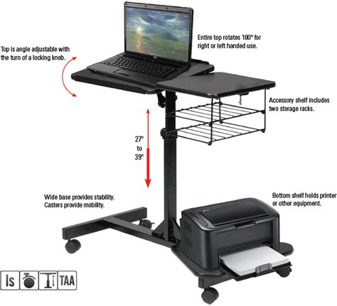 Balt Adjustable Computer Desk by Adjustable Laptop Desk Stand 100 Images 360 Degree
