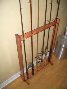 fishing rod rack plans fish and ing