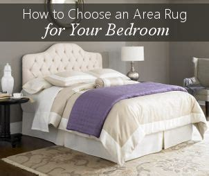 how to choose an area rug how to choose a bedroom area rug home pinterest