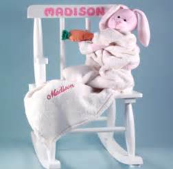 personalized gift for baby baby s rocking chair personalized baby gift for free shipping simply unique