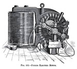 History Of Electric Car Motors Fisher Electric Motor Co History Vintagemachinery Org