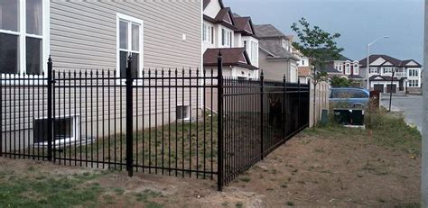 wood iron pvc fences ottawa on decks installations home
