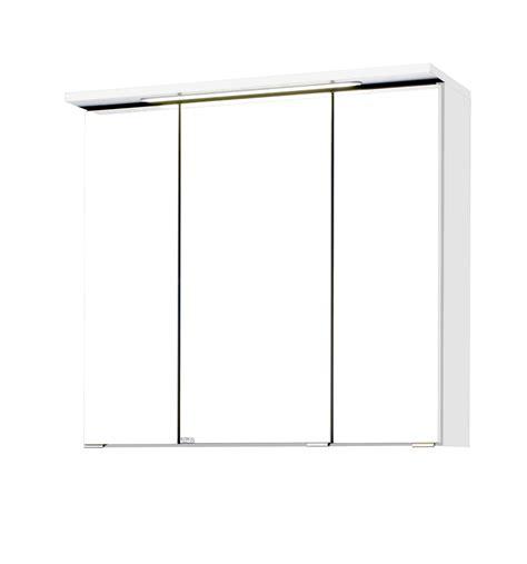 spiegelschrank 70 cm breit led bad spiegelschrank bologna 3 t 252 rig mit led lichtleiste