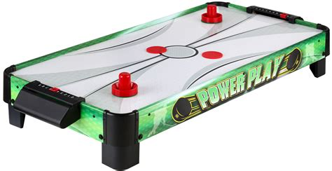 electric air hockey table carmelli power play ng1011t 40 quot table top electric air