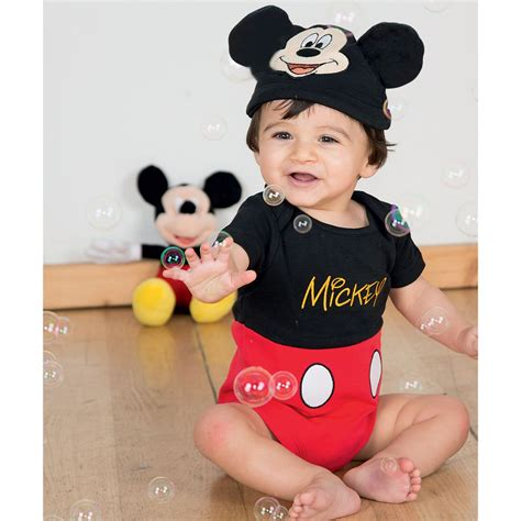 Baby Set Mickey Mouse by Disney Baby Baby Mickey Mouse Shortie Set Childrensalon