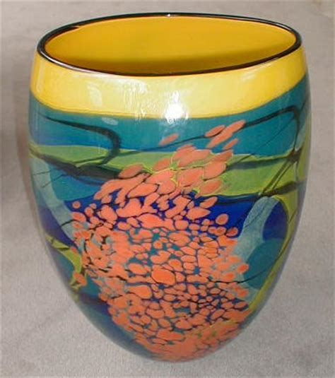 Yellow And Blue Vase Saper Galleries And Custom Framing A Major Source For