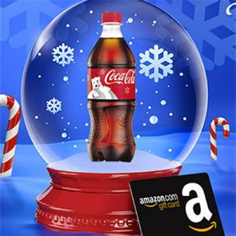 Coca Cola Gift Card - coca cola win a amazon gift card instantly oh yes it s free