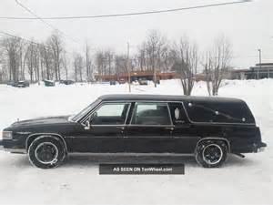Cadillac Fleetwood Hearse 1986 Black Cadillac Fleetwood Hearse