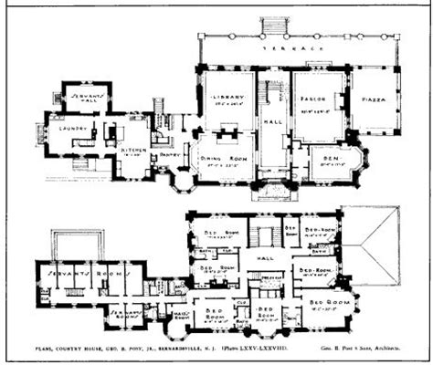 thornewood castle floor plan kenilwood the george b post jr estate designed by
