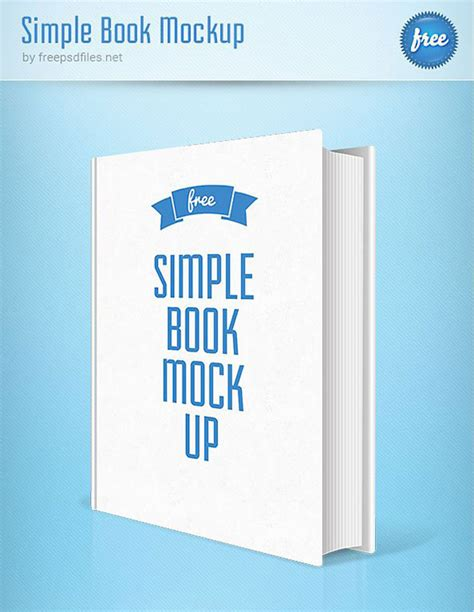 simple book cover template 38 book psd mock up templates web graphic design
