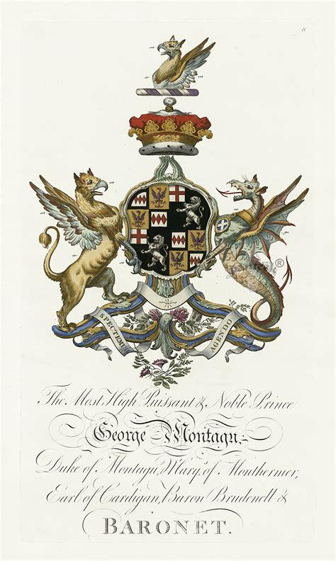 Armorial Segar | segar heraldic crests baronagium geneaologicum 1764