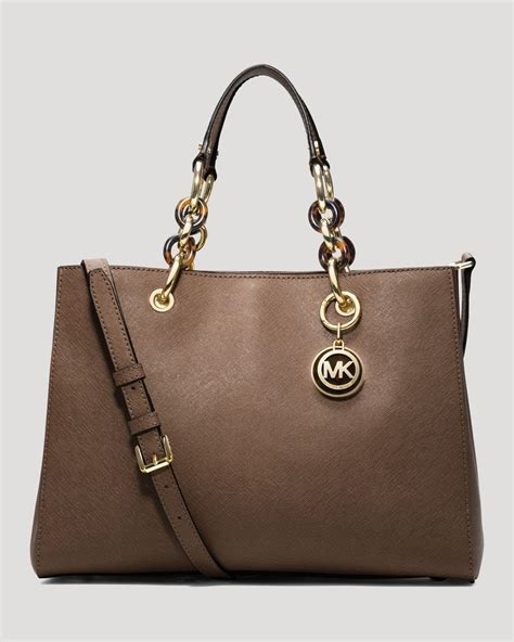 M Hael Kors Cynthia michael michael kors satchel cynthia medium in brown