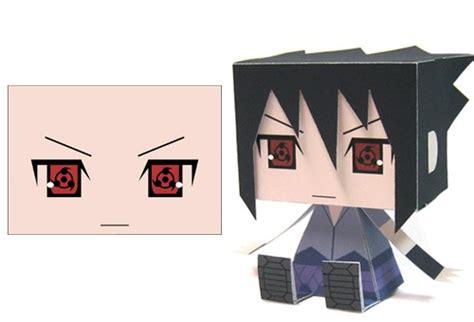 Sasuke Papercraft - crunchyroll sasuke papercrafts