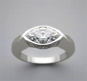 Ring Settings Wedding Ring Settings For Marquise Diamonds