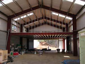Garage With Workshop Plans Metal Buildings Grass Valley Metal Building Grass Valley