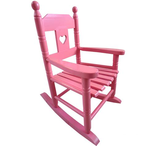 pink childs rocking chair childrens rocking chair
