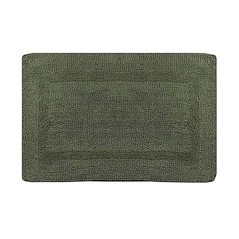 sage bathroom rugs buy wamsutta 174 reversible 17 inch x 24 inch bath rug in sage from bed bath beyond