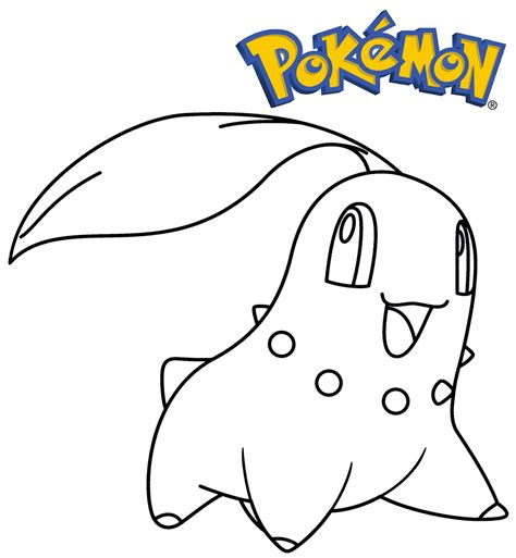 pokemon coloring pages chikorita dibujos para pintar de pokemon 10 dibujos de pokemon