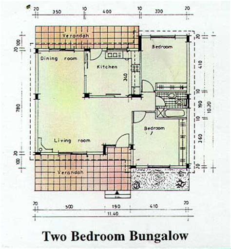2 Bedroom Bungalow Designs Two Bedroom Bungalow In Two Bedroom Bungalow House Plans Cottages And Bungalows House