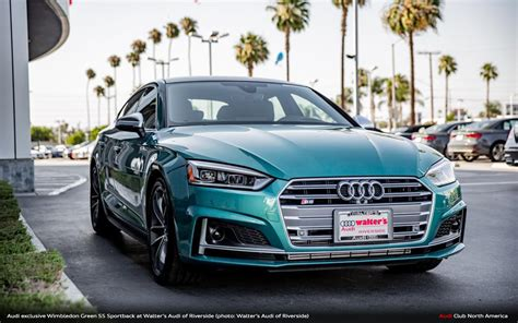 Audi Walters by Walter S Audi Taps 90s Porsche Green For S5 Sportback