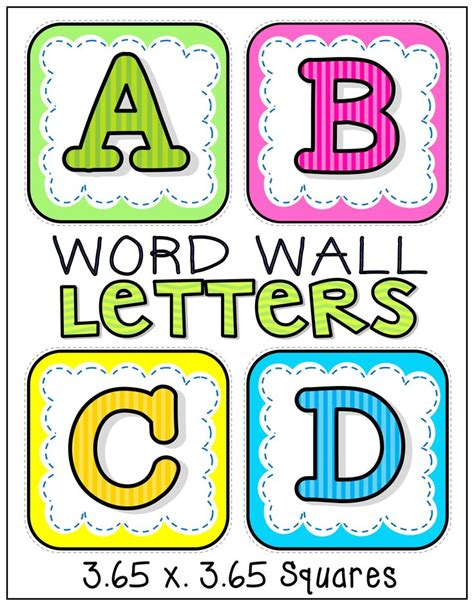 free printable alphabet wall letters 100 best classroom word wall ideas images on pinterest