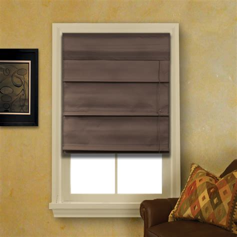 Fabric Shades by Espresso Brown Fabric Shade