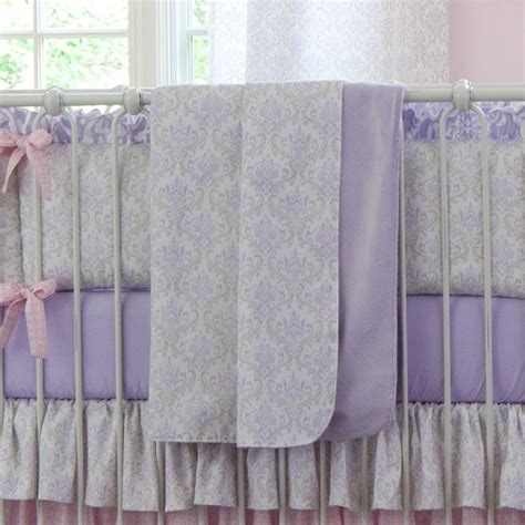 Crib Bedding Fabric Lilac And Silver Gray Damask Fabric By The Yard Gray Fabric Carousel Designs