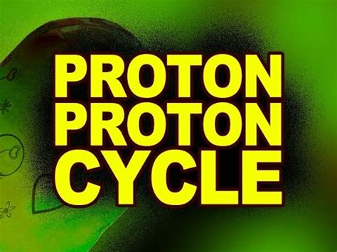 Proton Proton Cycle by Proton Proton Cycle Nuclear Physics Animated Lessons