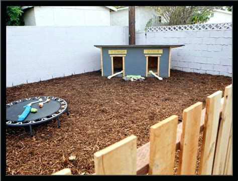 Backyard Ideas For Dogs Dog Fence And Deck Yard Landscaping Yards Gogo Papa