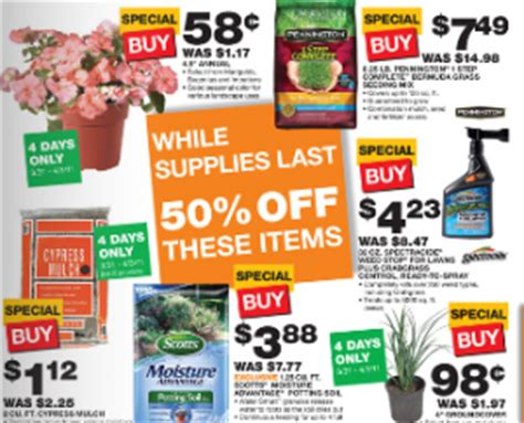 home depot black friday sale prices mulch only 1 12