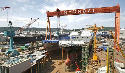 Hyundai Shipyard by Hyundai Heavy Industries Ulsan Shipyard Ship Technology