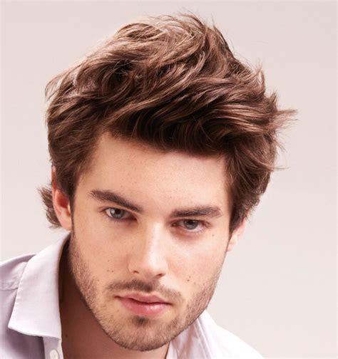 gents hairstyles for round face mens medium hairstyles photo 4 hairstyles beards men