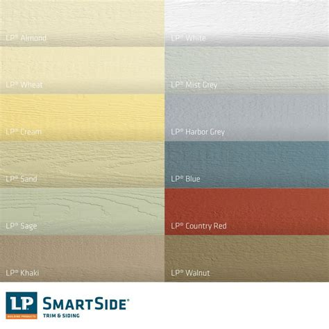 lp siding colors your builder or remodeler can lp smartside siding