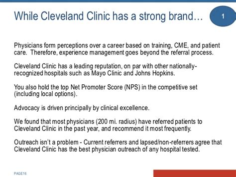 cleveland clinic help desk creating enchantment with referring physicians cleveland