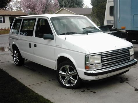 89 plymouth voyager turbofan 1989 plymouth voyager specs photos modification