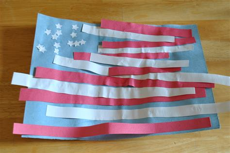 The Iowa Farmer S Memorial Day Flag Craft