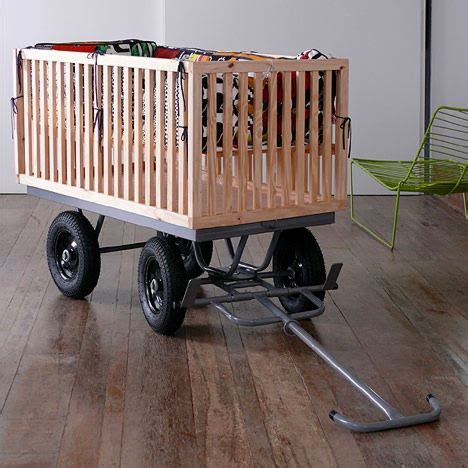 Crib On Wheels by Well Done Except For The Obvious The Staypuff Crib On