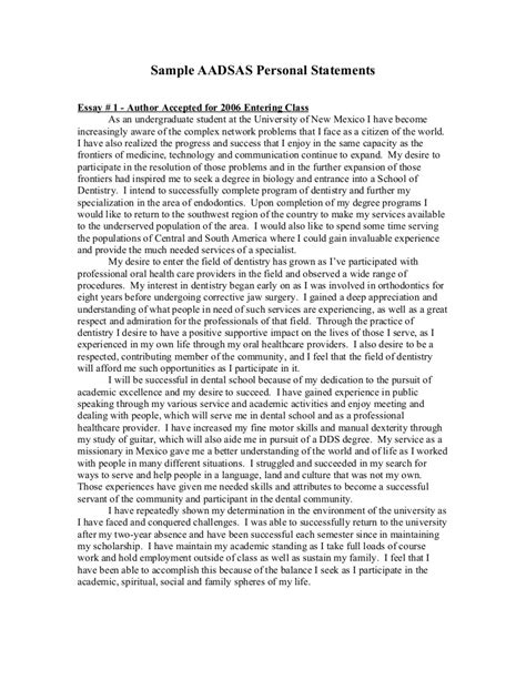 personal statement template personal statement exle http www