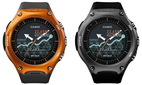 Smartwatch G Shock casio launches smartwatch with one month battery goes after apple