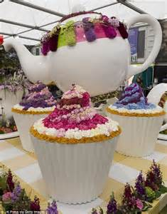 Bulk Flowers By Mail - interflora s time for tea english garden at chelsea