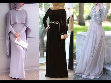 dresses  wear party hijab styles hijab evening