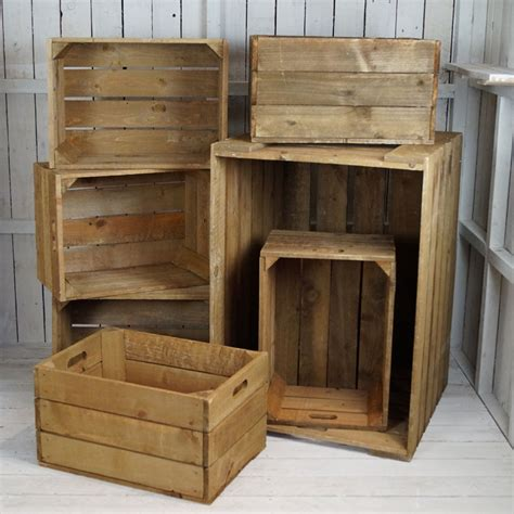 Furniture From Wooden Crates by Wooden Display Crates Satchville Gift Co Garden Furniture