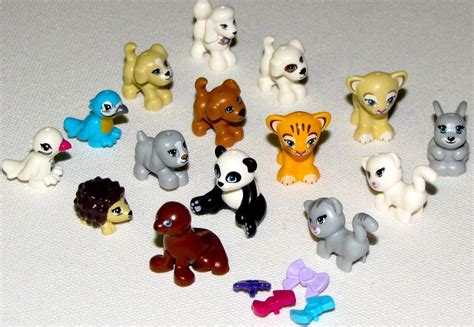 Lego Animal Accessories lego new friends animals puppy bunny hedgehog pets you which animals ebay