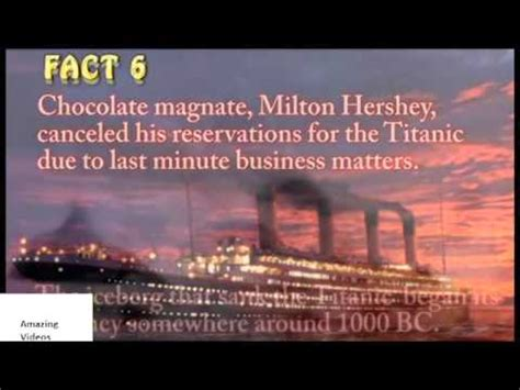 titanic film unknown facts unknown facts of titanic youtube