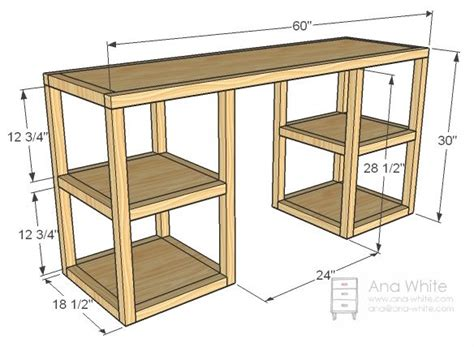 Parson Tower Desk For My Sewing Room Craft Show Ideas Computer Desk Plans Diy
