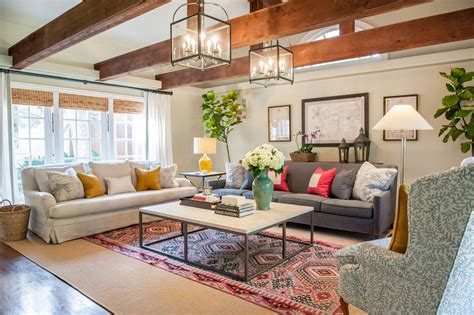 5 Reasons To Layer Living Room Rugs Decorilla Two Different Sofas In Living Room